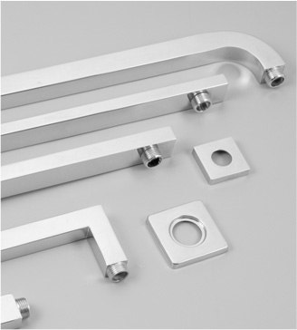 How to match stainless steel pipes for stair handrails?